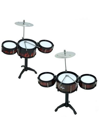 Sunman Sunman 80666 Jazz Drum Mini Davul Oyuncak Bateri Seti Renkli
